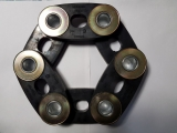 Laschenringkupplung Laschenkupplung Gelenkscheibe Teilkreis 200 mm